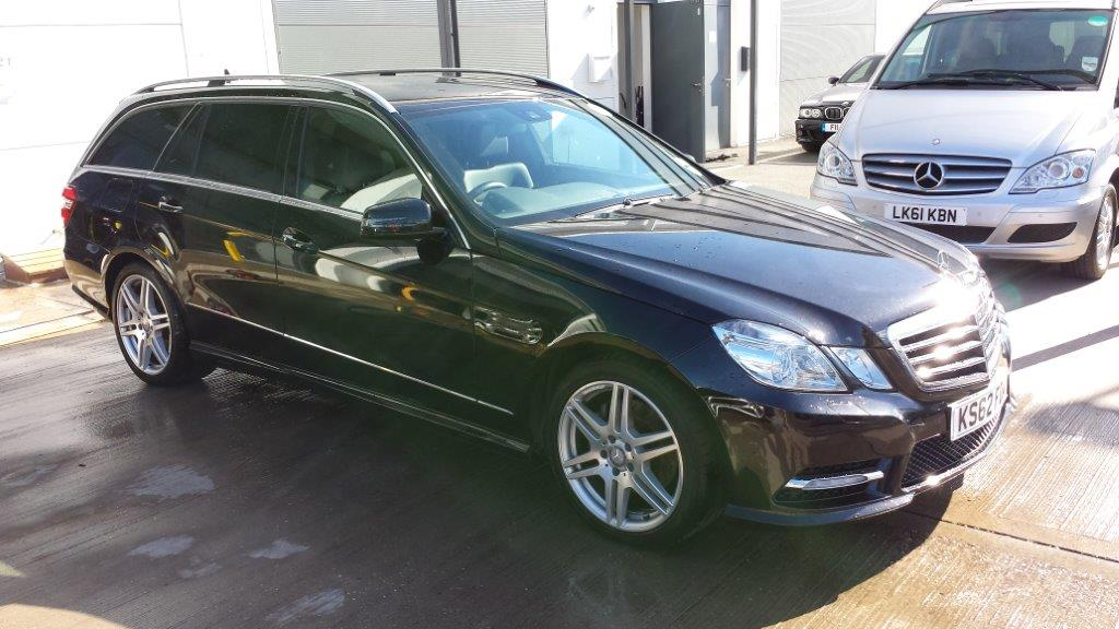 Mercedes Benz E220cdi Amg Sport Estate Auto Firecracker